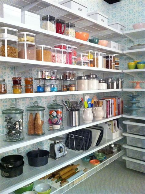 White elfa décor Baker's Pantry   Pantry, Organize and
