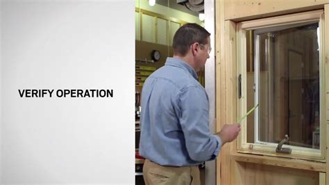 window opening control device installation  andersen  series casement windows youtube