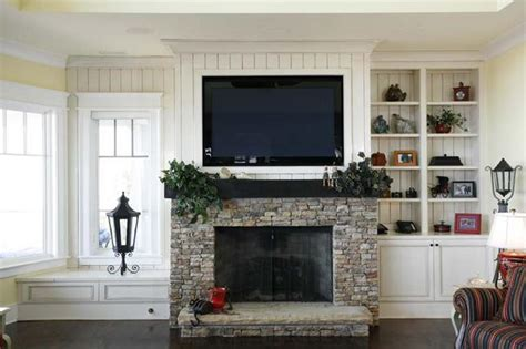 install  tv   fireplace