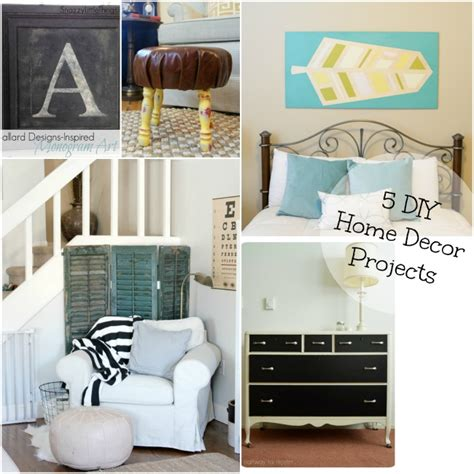 diy home decor projects   project stash