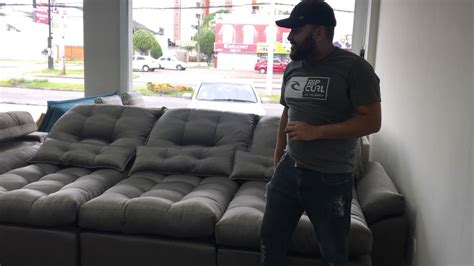 sofa retratil e reclinavel sofa dallas retrátil e reclinável youtube