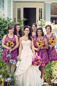 19 best images about weddings on pinterest maggie With sunflower wedding bridesmaid dresses