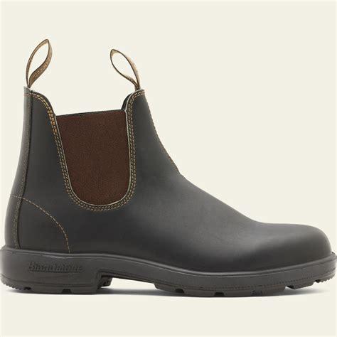 Stout Brown Premium Leather Chelsea Boots, Men's Style 500 ...