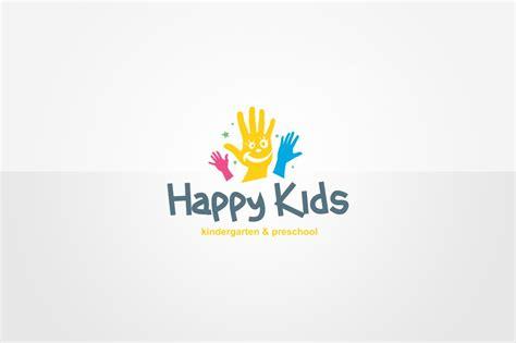 kindergarten logo template logo templates creative market 113 | kindergarten logo template 1