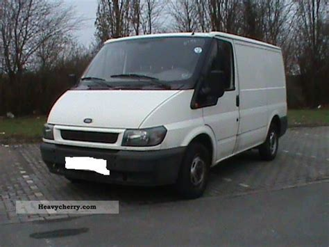 Ford Transit Ft 300 2001 Box-type Delivery Van Photo And Specs