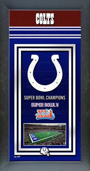 Indianapolis Colts Super Bowl Championship Banner Colts