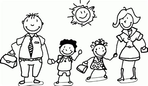 coloring page   family coloring home