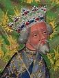 Wenceslaus IV,Detail.King Wenceslaus IV, Charles IV,Holy ...
