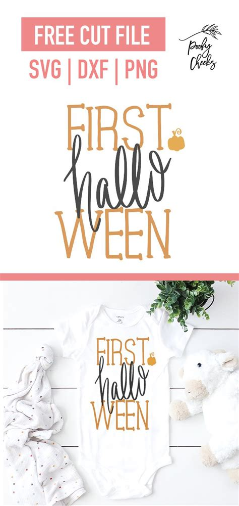 My goal is to always keep hello svg free for personal and commercial use, but running a popular free download site can get costly. First Halloween Baby Onesie SVG, DXF, PNG by   First ...