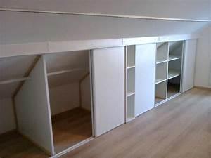 Etagere De Placard : armoire sous pente ~ Melissatoandfro.com Idées de Décoration