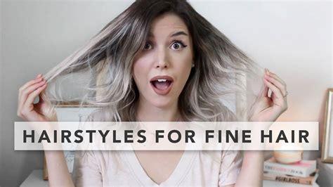 hairstyles  baby fine hair fade haircut
