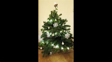 weihnachtsbaum selber machen weihnachtsbaum selber machen tree diy eng sub