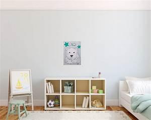 Tableau Chambre Bébé Garçon : tableau d co enfant b b ours polaire bleu beige enfant b b tableau enfant b b decoroots ~ Teatrodelosmanantiales.com Idées de Décoration