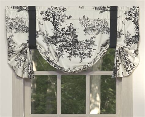 tie up valance tie up valances solid colored patterned prints