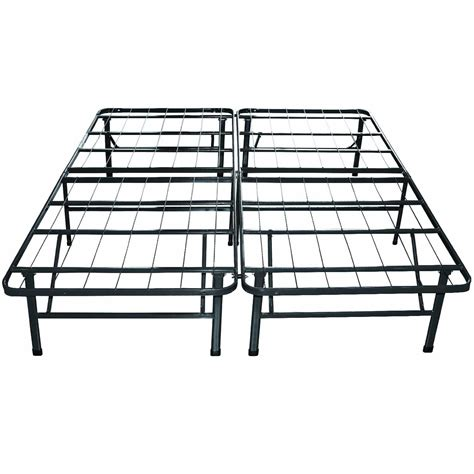 the sleep master queen metal platform bed frame with discount reviews home best furniture