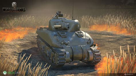 World Of Tanks Coming To Xbox One With Crossplatform