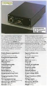 digital analog wandler radio digital analog wandler tda2000 misc thorens sa st croix b