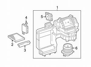Toyota Camry Blower Assy  Hvac Blower Case Assembly  Cabin