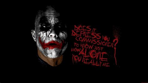 joker quote dark knight full hd desktop wallpapers p