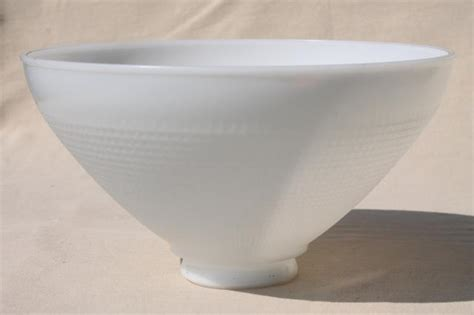 vintage white glass l shade vintage white glass diffuser replacement shade large l