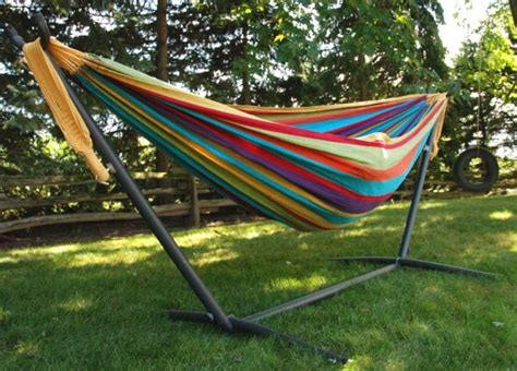 Hammock And Hammock Stand by Space Saver Combo Caribbean Hammock Stand And