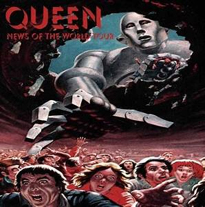 Queen - News of the World - The Cover Cove - Quora
