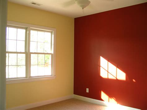 two color painting idea in room home combo