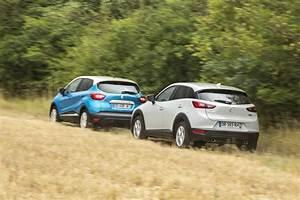 Mazda3 Dynamique : essai comparatif mazda cx 3 vs renault captur le match des petits suv photo 67 l 39 argus ~ Gottalentnigeria.com Avis de Voitures