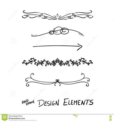 text decoration underline spacing design elements stock vector image 74026128