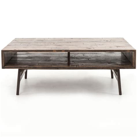 coffee tables that open up nico coffee table with open compartments by four 8242