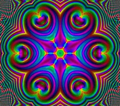 Psychedelic Mandalas Animations Teapot Groovy