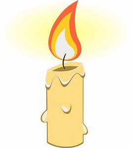 Burning Candle Clipart – 101 Clip Art