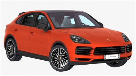 2020 Porsche Cayenne Model by 3d Porsche Cayenne Coupe 2020 Turbosquid 1413480