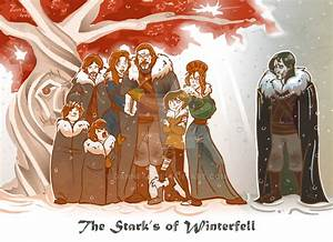 The Stark Family Of Winterfell By DanNeal On DeviantArt