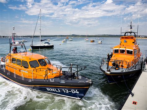 Rnli rnli launches kcom lifeboat station network charity 3454 x 2591 · jpeg
