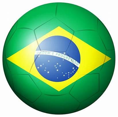 Brazil Soccer Ball Clipart Sports Clip Balls