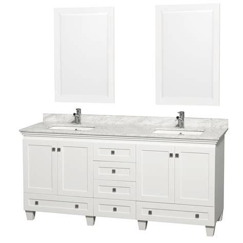 72 inch sink bathroom vanities wyndham collection wcv800072dwhcmunsm24 acclaim 72 inch 24805
