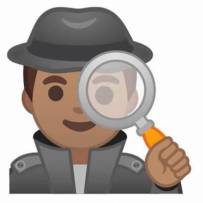 Detective Emoji Google Tone Meaning Skin Medium