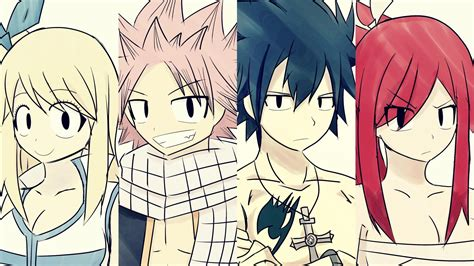 fairy tail team natsu wallpaper  tkeio  deviantart