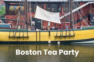 boston tea party printable