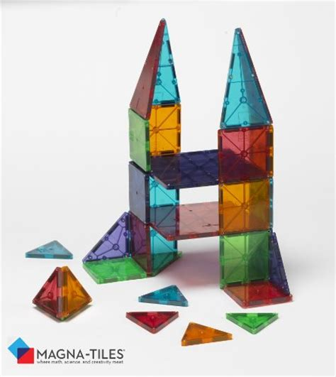 Magna Tiles 32 by Magna Tiles Clear Colors 32 Set 49 95