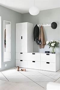 Ikea Flur Ideen : die 25 besten ikea garderobe ideen auf pinterest ikea ~ Lizthompson.info Haus und Dekorationen