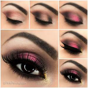 Pink Smokey Eye Step By Step Tutorial