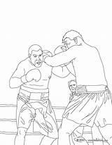 Boxing Coloring Colorear Boxe Coloriage Colorir Desenho Boxeo Printable Pintar Combat Imprimer Fight Imprimir Zum Ausmalen Dibujos Boxkampf Sportive Dibujo sketch template