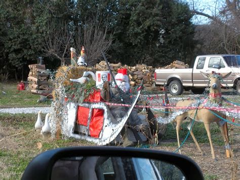 funny redneck christmas decorations