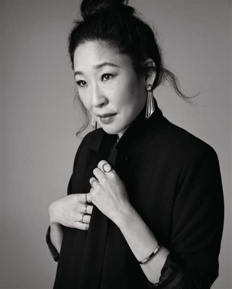 sandra oh on killing eve sandra oh on killing eve and her emmy nomination