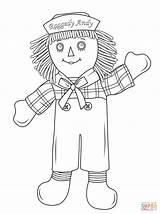 Raggedy Coloring Doll Andy Rag Pages Drawing Dolls Printable Cabbage Cartoon Patch Clipart Ann Paper Getdrawings Games Popular Categories sketch template