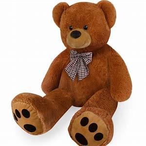 Ours En Peluche : grand nounours g ant ours en peluche xxxl teddy bear brun ebay ~ Teatrodelosmanantiales.com Idées de Décoration