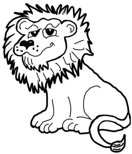 draw cartoon lions jungle animals step