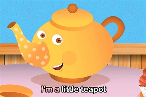 I'm A Little Teapot (with Lyrics)  Nursery Rhymes By